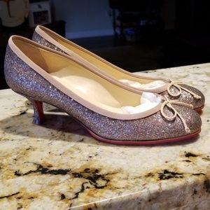 "Christian Louboutin filille sz. 36.5. 2""  heels"